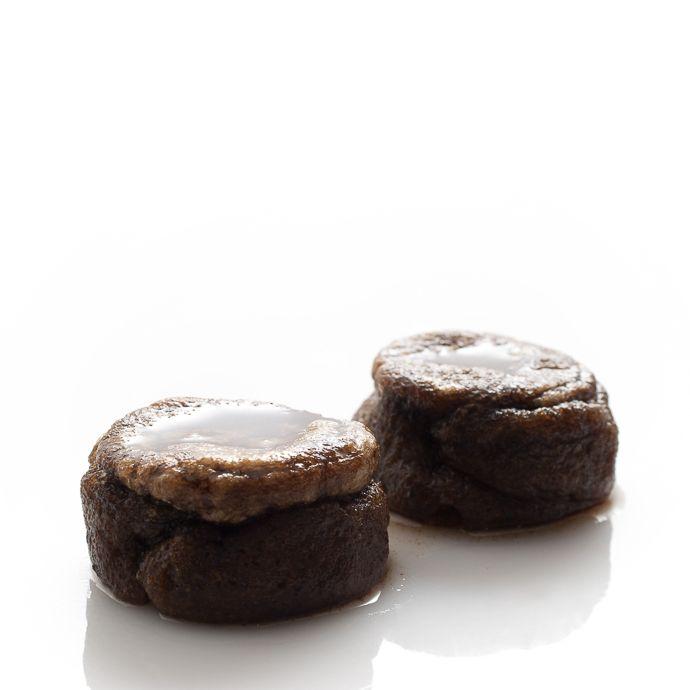 Papos-de-anjo de chocolate