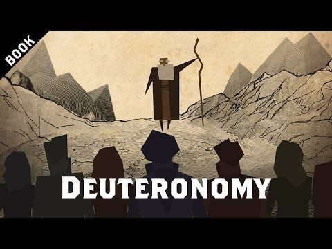 The Bible Project - Great animated video explaining the book of Deuteronomy from the whole bible.