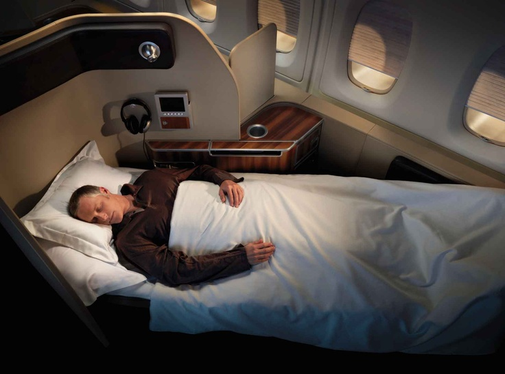 first-class-qantas-a380 Really would love to be able to afford traveling in this manner !