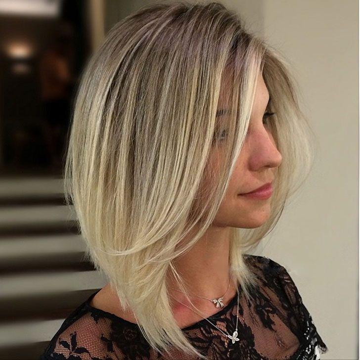 40 Best Medium Hairstyles And Haircuts Of 2018 Medium Length Hair Styles Angled Bob Hairstyles Medium Hair Styles