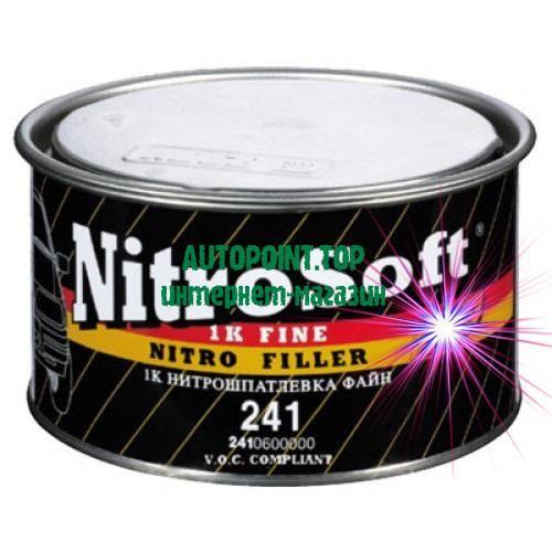 HB-Body 241 Nitrosoft - финишная однокомпонентная нитроцеллюлозная шпатлевка, предназначенная для устранения мелких дефектов таких, как неглубокие сколы и небольшие риски непосредственно перед окраской