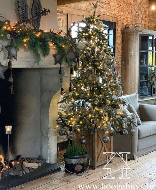 Landelijk Wonen Kerst Kerst Kerst Woonkamers Kersthuis