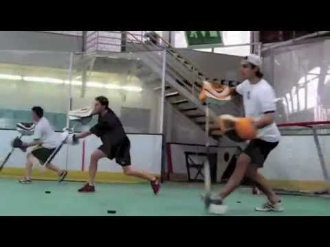 ▶ Off Ice Training Goalie Dusan Sidor - YouTube