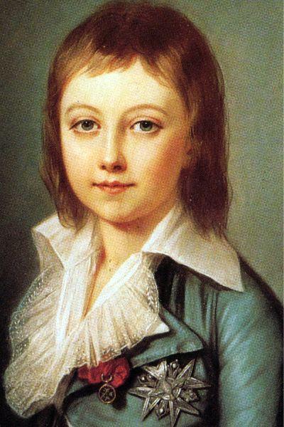 Le Dauphin, fils de Louis XVI et Marie-Antoinette/
