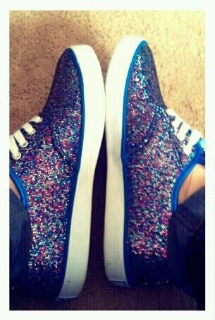 RAINBOW SHOES(: #shoes