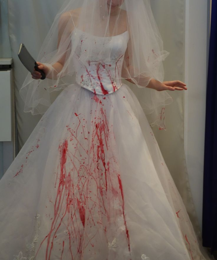 Bloody Zombie/ Killer Bride for Hire from The Littlest Costume Shop in Melbourne