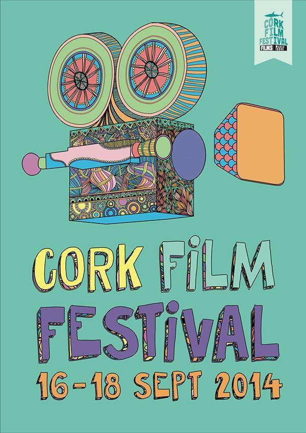Cork Film Festival on Behance