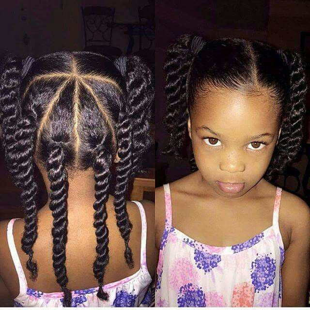 Image Result For Simple Hairstyles For Black Girls Hair On Picture Day Lil Girl Hairstyles Little Girl Hairstyles Hair Styles