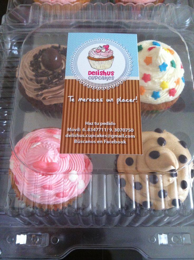 Delishus Cupcakes Cajita Surtida