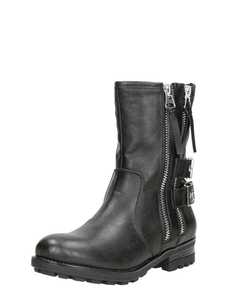 zwarte boots dames | stoere dames boots - SchoenenTamTam.nl