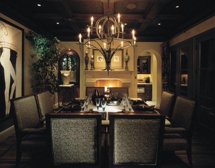 best Modern Chandelier Design in Dining Room  on Pinterest