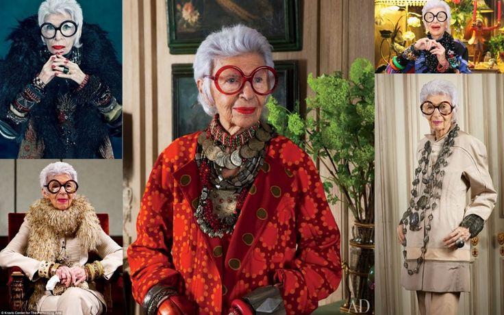 Iris Apfel, divă a modei la peste 90 de ani!