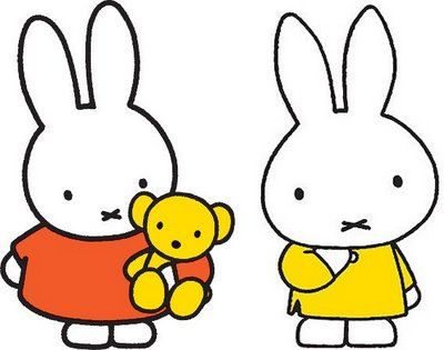 Miffy by Dick Bruna - Nicolien's favourite