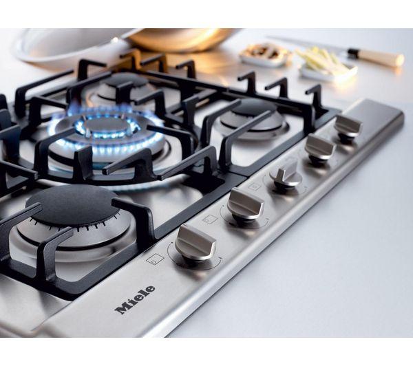 Mini Modern Kitchen Miele Gaggenau: Miele Stainless Steel Gas Hob Nestkitchens.co.uk