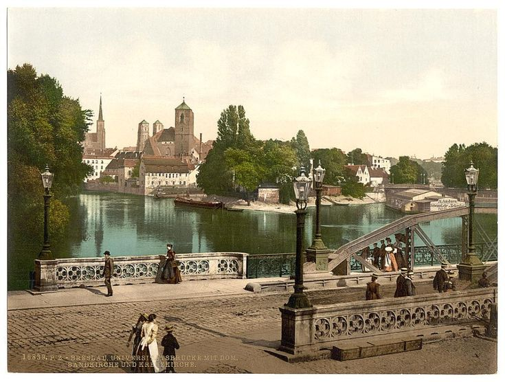 Zdjęcie numer 7 w galerii - Niemiecki Wrocław na kolorowych zdjęciach z amerykańskiej Biblioteki Kongresu