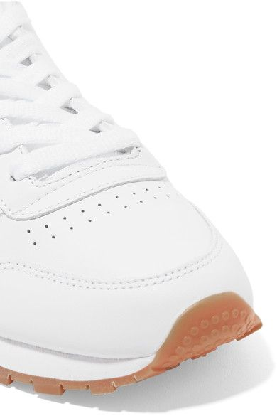 Reebok - Classic Leather Sneakers - White - US7.5