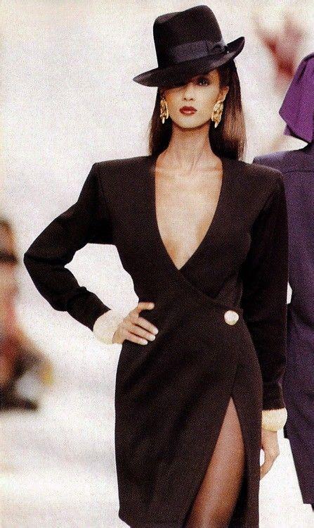 Vintage Yves Saint Laurent - Iman