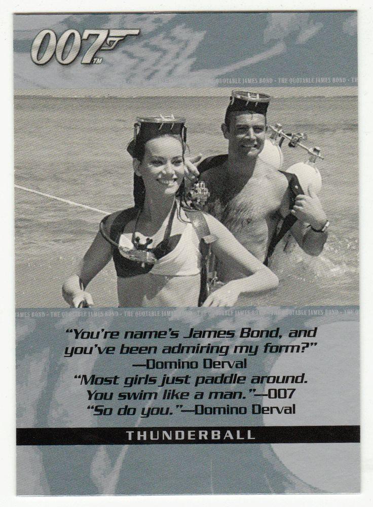 James Bond - The Quotable # 83 - Thunderball