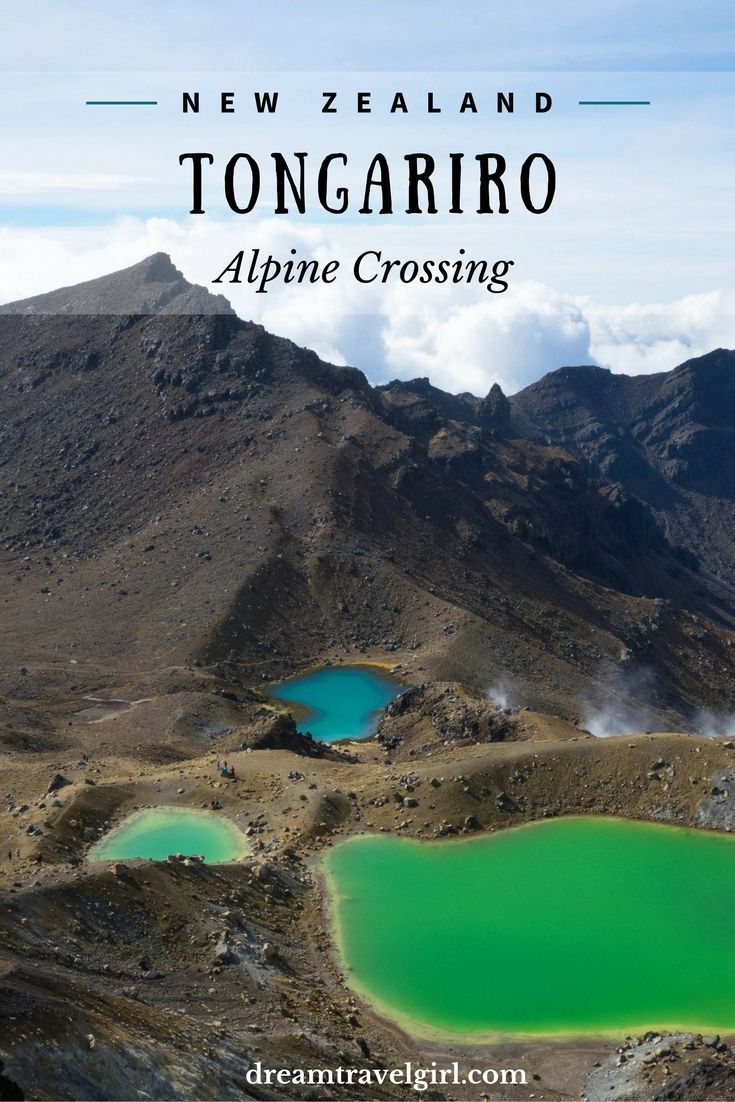 The Tongariro National Park in New Zealand is one of those places that seem unreal. Smoky volcanoes, Moon-like valleys, colorful lakes. No wonder Mordor was filmed there. A popular option to explore the park is the Tongariro Alpine Crossing, a 19.4km long day walk.