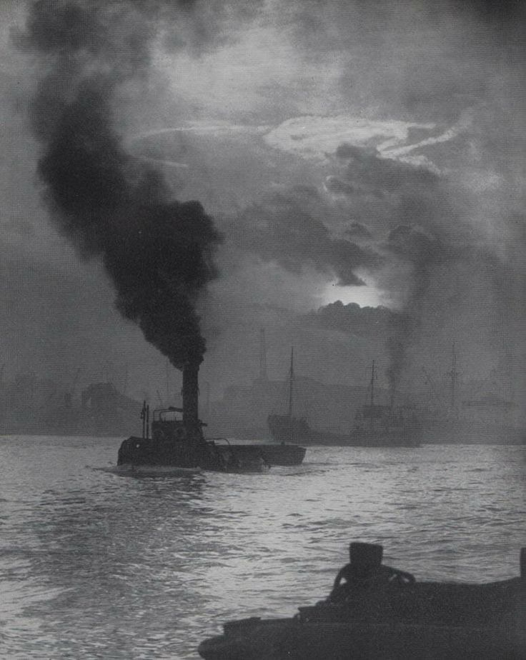 'The Thames At Deptford High Tide
