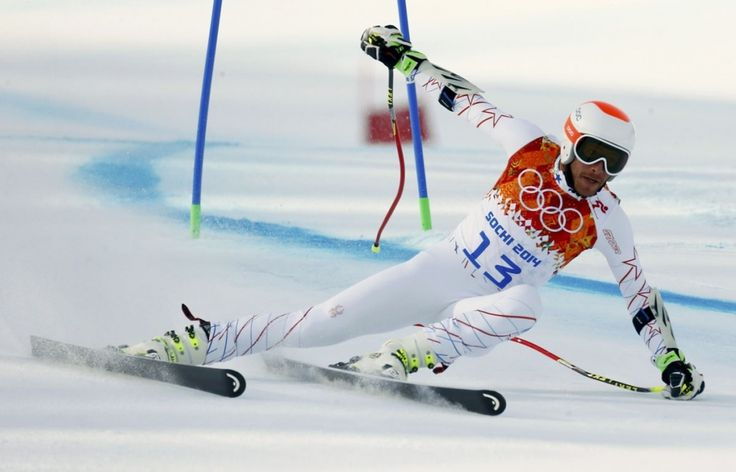 Stylish In Addition To Stunning Super G Downhill Skiing