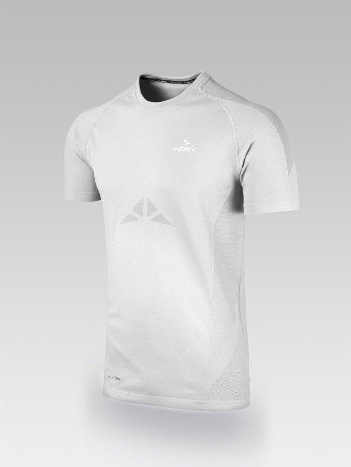 Playera deportiva blanca Nemik #tshirt #white #Nemik