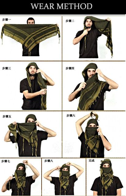 25+ unique Shemagh scarf ideas on Pinterest | Military ...