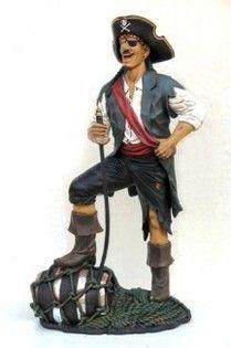 Figura de pirata divertido para la decoración de carnaval