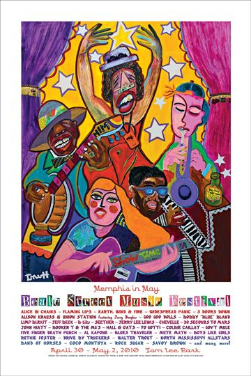 2010 Memphis in May Beale Street Music Festival Poster http://memphisinmay.org/Store_CategoryProducts.aspx?cid=2922c32020GDh16Ig