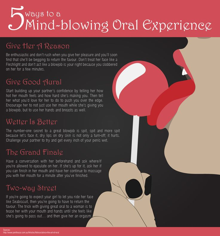 5 Ways to a Mind-Blowing Oral Experience