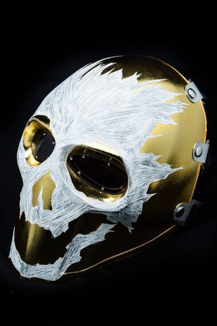 Onimaru Mask Army of Two Paintball Airsoft Halloween Halo Reach Emile McFarlane | eBay