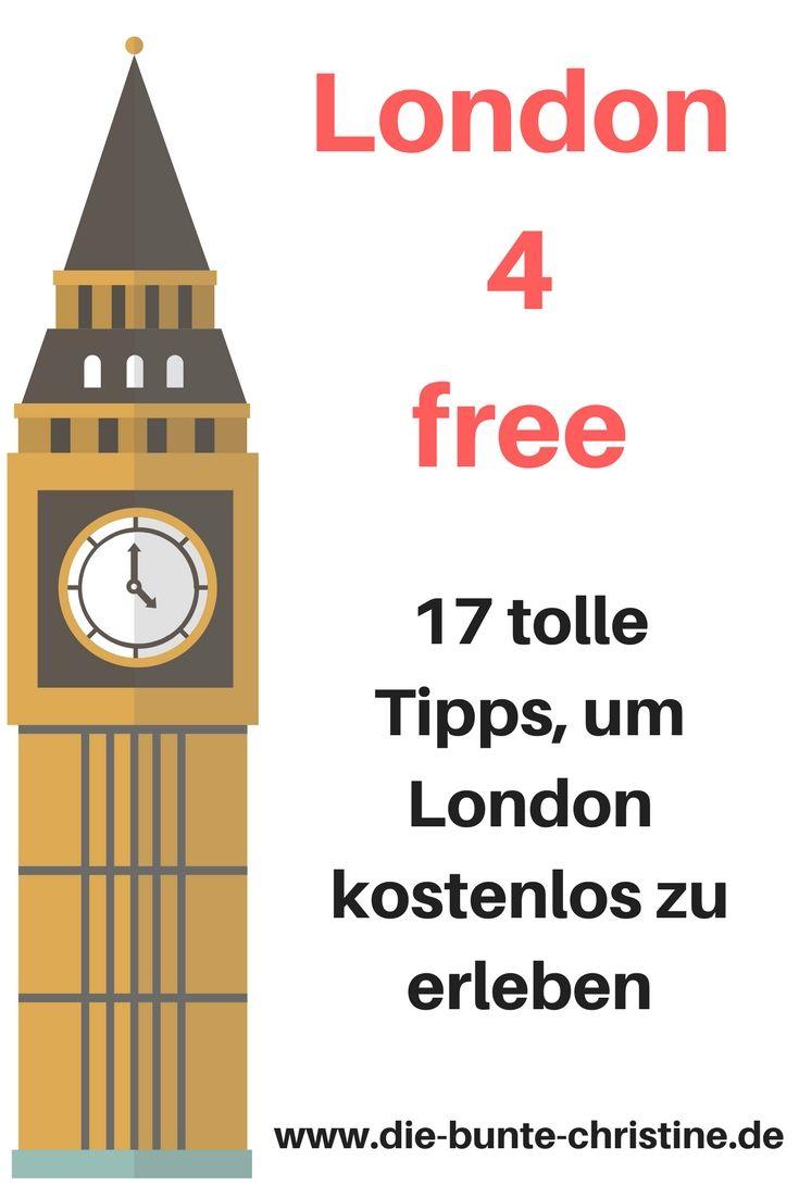 London kostenlos: 17 Tipps, um Geld zu sparen