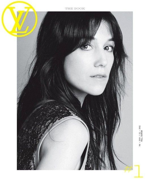 Louis Vuitton's The Book magazine cover with Charlotte Gainsbourg