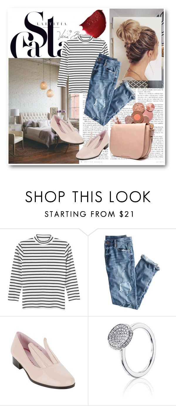 """""""Relaxed bunny"""" by annasalenkova on Polyvore featuring Vera Bradley, Monki and J.Crew"""