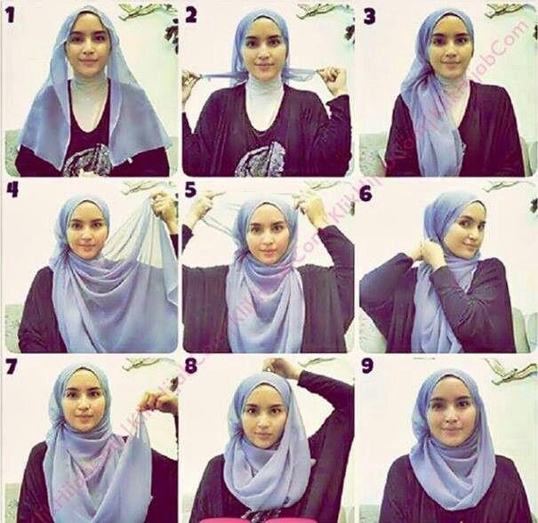 Tutorial Hijab By Mayra Hijab: Kreasi Tutorial Hijab Segi Empat Modern untuk Maha...