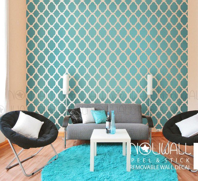 5 Beautiful Accent Wall Ideas To Spruce Up Your Home: 1000+ Ideas About Moroccan Wallpaper On Pinterest