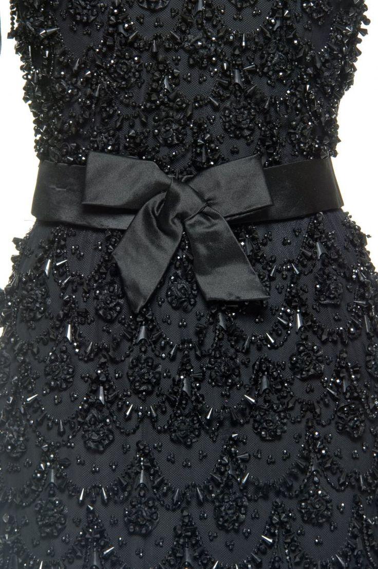 Balenciaga Détail robe du soir haute couture Fall/Winter 1965