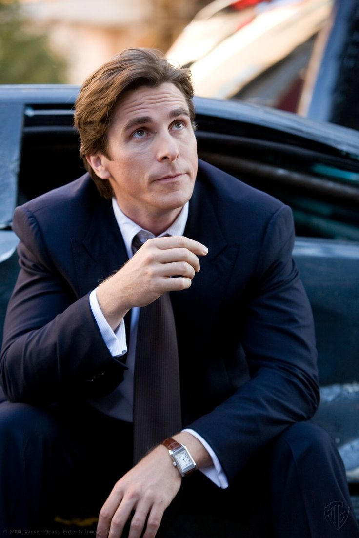 Bruce Wayne played by Christian Bale in The Dark Knight / Batman