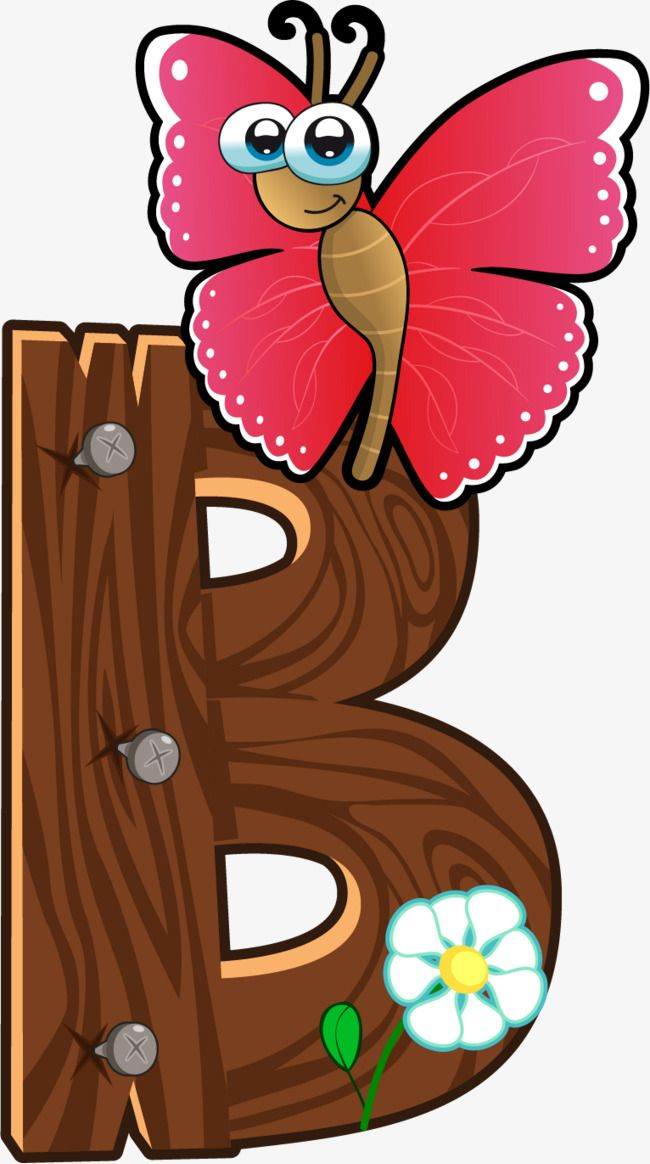Cartoon Wooden Animals Letter B Animal Letters Alphabet