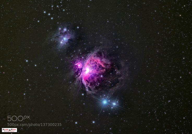 Nebulosa di Orione by MetalDave