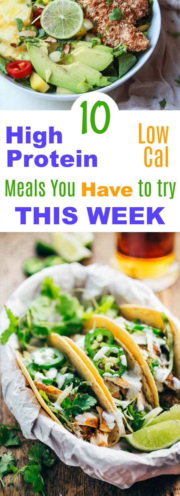 High protein helps us fend off those cravings and these are also low cal dishes you'll want to have over and over. High protein | Low calorie | delicious