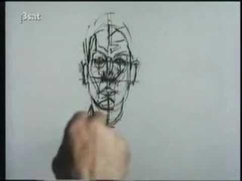 watch Alberto Giacometti paint!