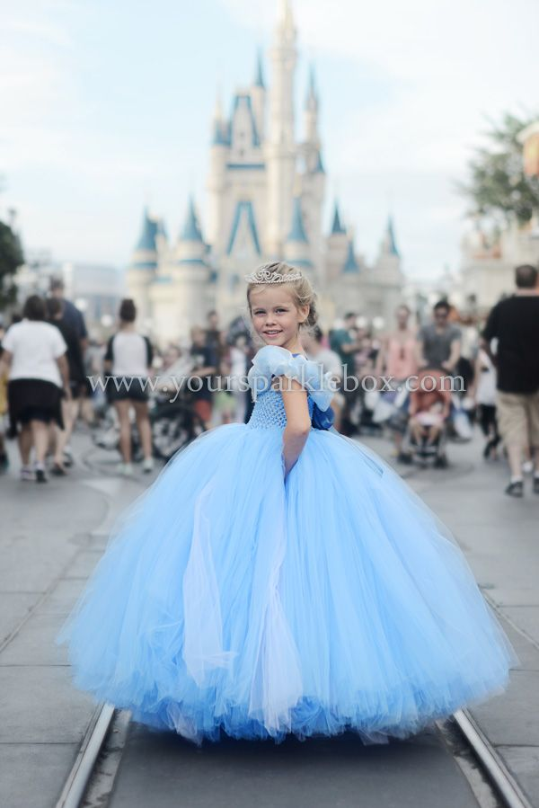 Cinderella Tutu Dress by YourSparkleBox 2015
