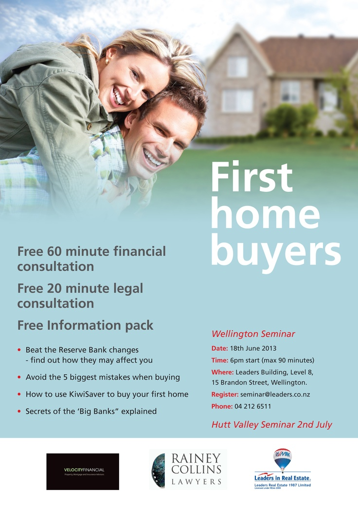 First Home Buyers Information sessions