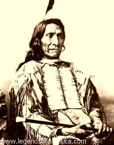 Chief Red Cloud. Lakota Tribe.