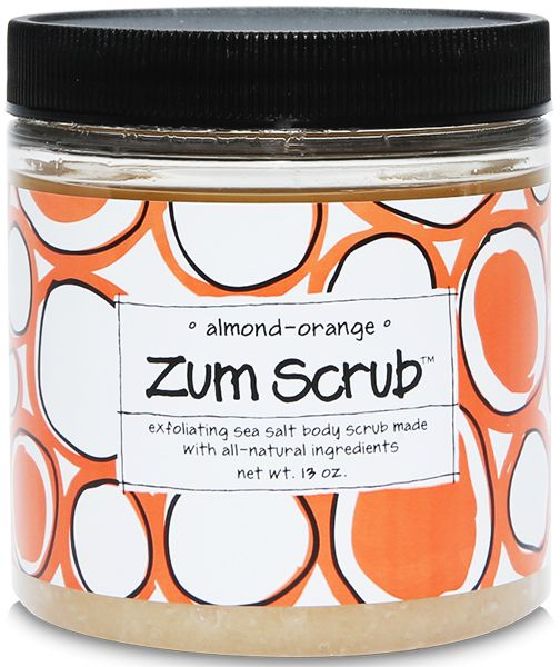 Indigo Wild Almond Orange Zum Scrub