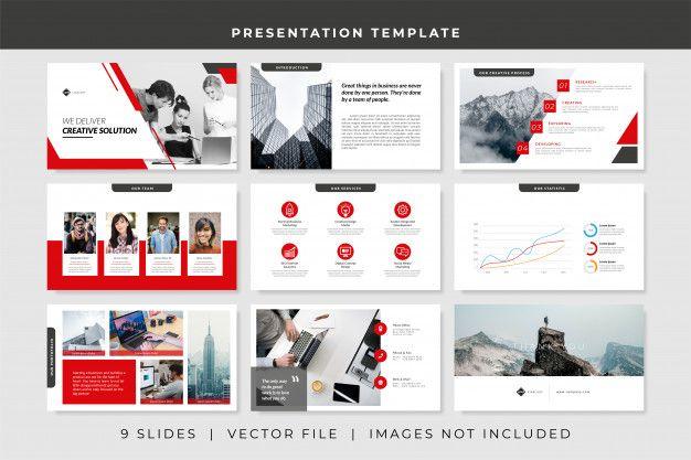 9 Slides Business Powerpoint Presentation Template Business Powerpoint Presentation Powerpoint Presentation Templates Presentation Slides Design