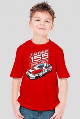 Alfa Romeo 155 Tourenwagen-Legende 1992-1997 (koszulka dziecięca)