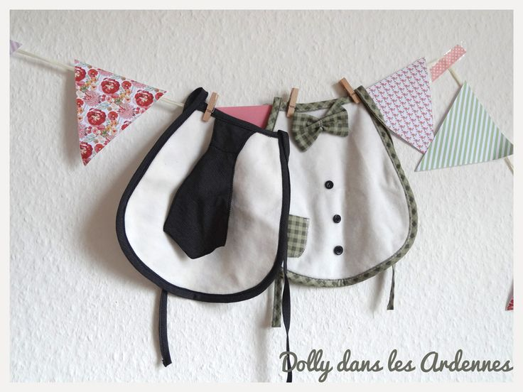 Classy Bibs | Bavoirs choupi-trognon | Dolly dans les Ardennes