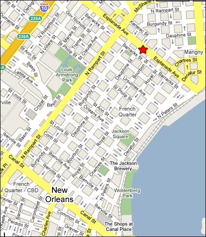 Best French Quarter Map Ideas On Pinterest The French Nola - Map of new orleans usa